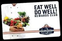 Silver Diner Eat Well Do Well Card